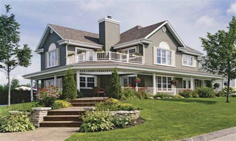 homes with wrap around porches country style country home house plans with porches country house wrap