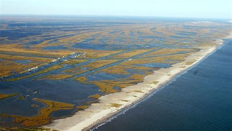 boat rs near disappearing island areas of southern louisiana are disappearing underwater at