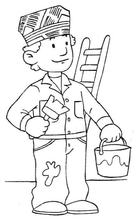 imagenes para colorear oficios y profesiones resultado de imagen para imagenes infantiles de oficios y