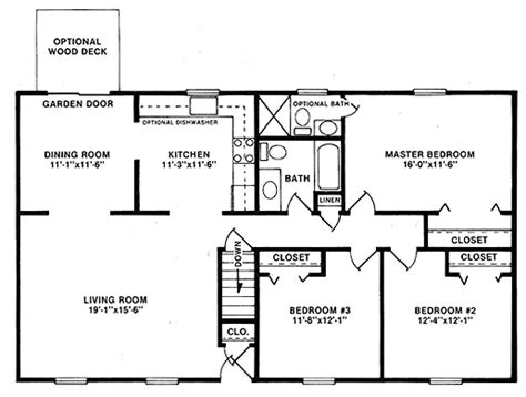 28x48 floor plans 48 x 28 house plans home design and style