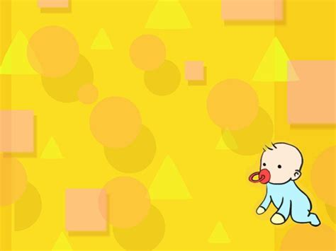 powerpoint themes baby cartoon wallpaper baby toon