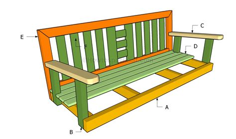make a porch swing how to build a porch swing howtospecialist how to