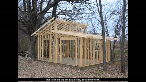 Shed Plans With Porch Youtube Building Plans For Shed With Porch