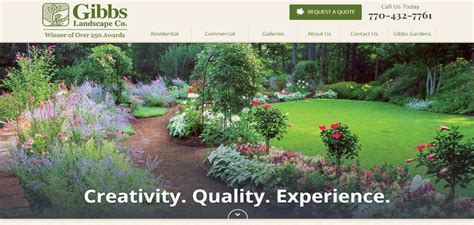 the 5 top landscaping websites models for success