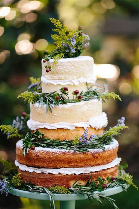 Herbal Cak Wedding Cakes Rustic Beautiful Creative Or Unique