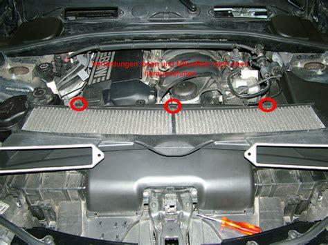 Bmw 1er Innenraumfilter Wechseln by Mikrofilter Aktivkohlefilter Wechseln F 252 R Alle 1er E8x