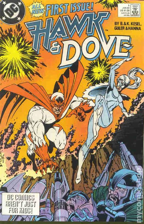 hawk and dove comic books hawk and dove 1989 3rd series comic books