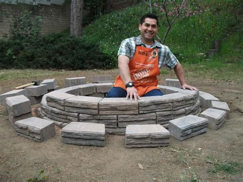 Diy Backyard Fire Pit Home Made Ideas To Build Outdoor Build A Backyard Pit