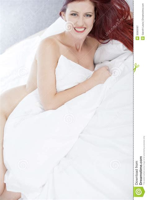 naked woman in bed woman naked on bed stock image image of young naked