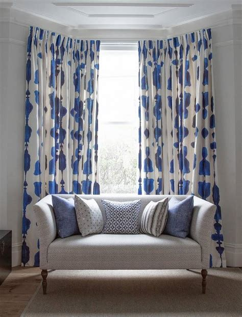 Bold Patterned Curtains Use Fabric Curtain Designs To Transform Your Room