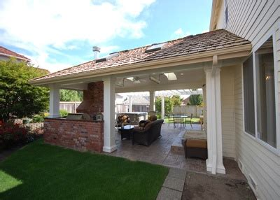 outdoor covered patio for kitchen outdoor kitchens