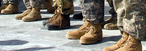 army boot regulation could big expense