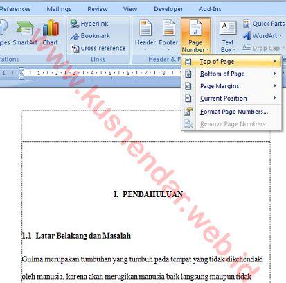 tutorial membuat daftar isi di word 2013 tutorial membuat daftar isi otomatis di word 100 berhasil
