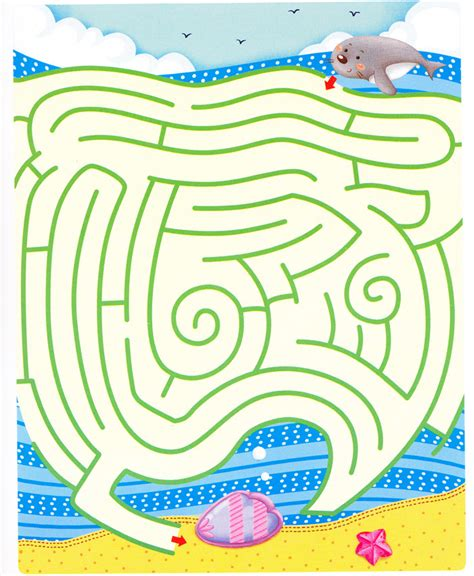 printable beach maze beach maze for the kids mazes pinterest kids mazes
