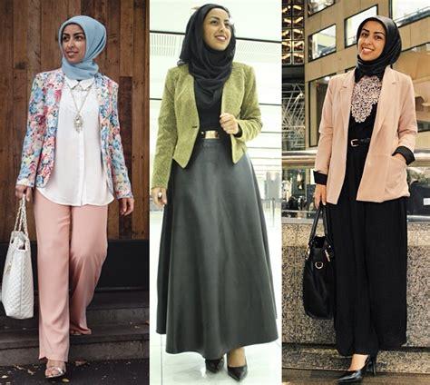 Baju Elegan Simple 4 tips memilih baju kerja wanita muslim sesuai postur tubuh info tren baju terbaru di indonesia