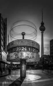 Sideboard Retro Berlin Weltzeituhr Am Alexanderplatz Schwarz Wei 223 C