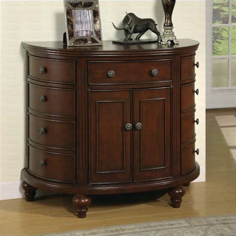 Accent Dresser by Coaster Medium Brown Accent Chest