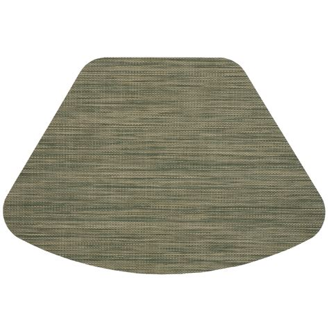 placemats for table wedge placemats green wipe clean wedge shaped