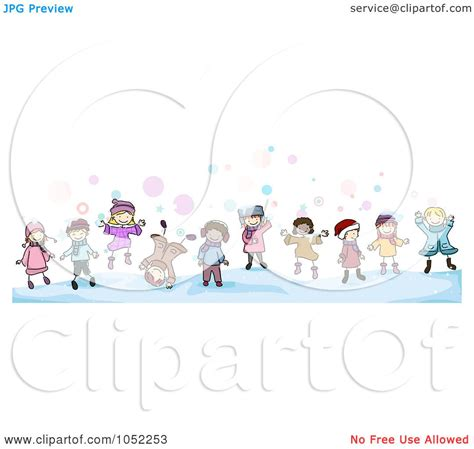 royalty free vector clip art illustration of a border of
