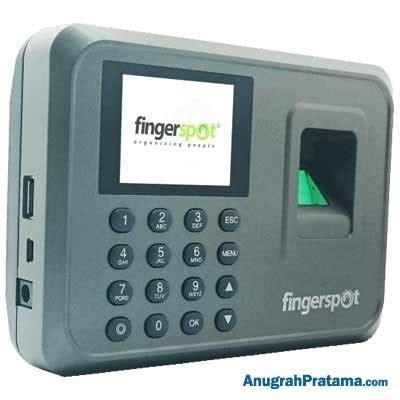 Fingerspot Livo 151 Grey Sidik Jari Dan Password New Product jual fingerspot livo 151 sidik jari dan password