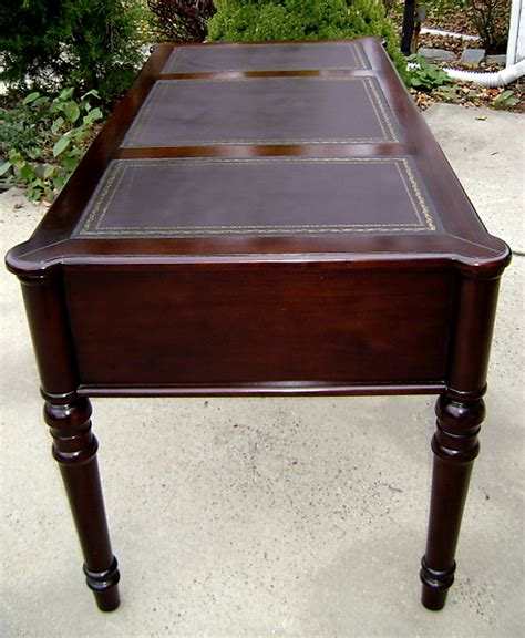 Mahogany Desks For Sale by Large 63 Louisphilippe Mahogany Leather Top Desk For Sale Antiques Classifieds