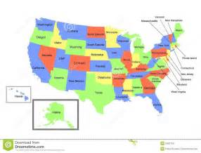 map of the united states royalty free stock photo image
