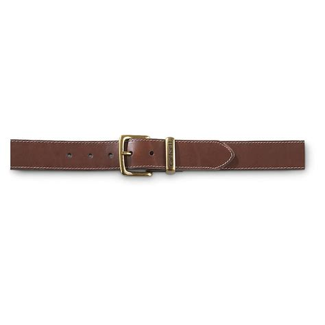 carhartt leather jean belt 224866 belts suspenders at