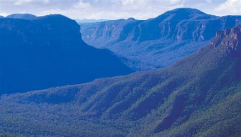 Scenic Town by Why Are The Blue Mountains Blue Scenic World