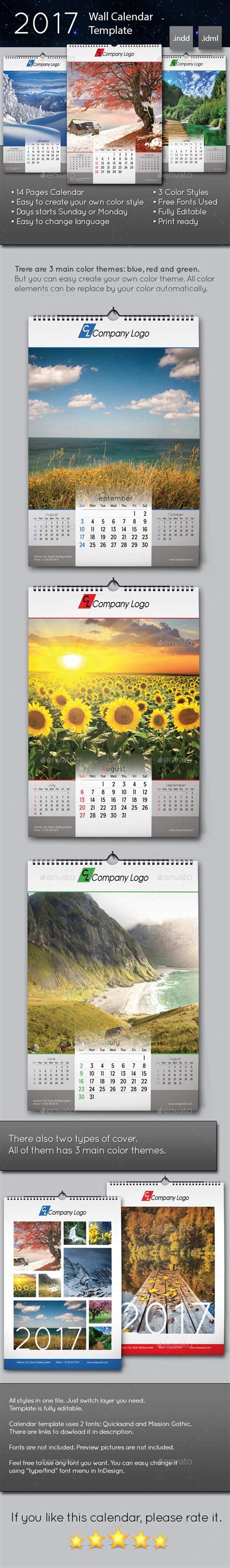 calendar layout indesign 2018 wall calendar wall calendars template and 2017