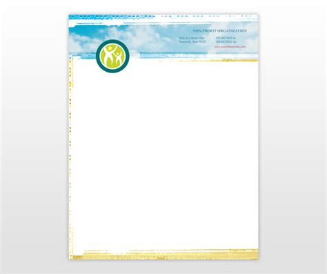 charity letterhead design charity letterhead 5863086 disabled child 226282 smart