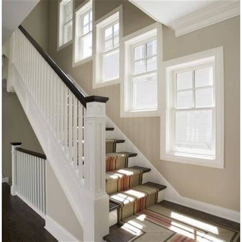 Bow Window Ideas window of the week staggered on the staircase