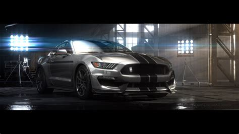 2016 ford shelby gt350 mustang breaks cover