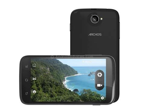 archos 40b titanium android phone with 4 quot display at 119 specs features