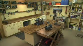 How to design the perfect workshop today s homeowner