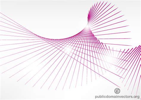 vector line art tutorial illustrator vector pink curve lines background illustration download