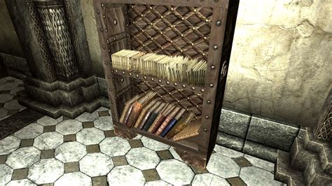 unlimited bookshelves at skyrim nexus mods and community