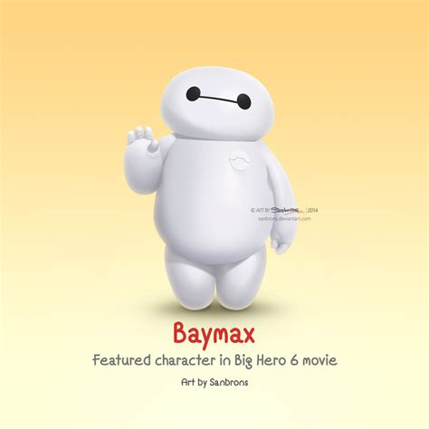 baymax name wallpaper cute baymax from big hero 6 by sanbrons on deviantart