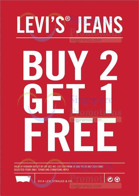 Promo Popsocket Buy 1 Get 1 levi s buy 2 get 1 free promo imm 24 28 jul 2014