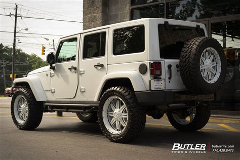 Jeep Tire Size Jeep Wrangler Unlimited Custom Wheels Fuel Hostage 22x Et