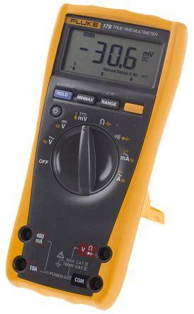 Multimeter Digital Fluke 179 fluke 179 fluke 179 handheld digital multimeter 10a ac 1000v ac 10a dc 1000v dc with rscal