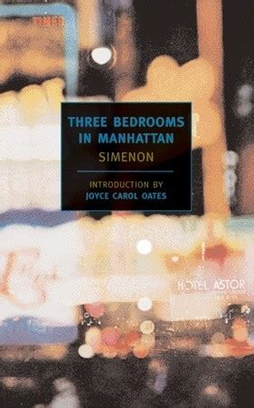 manhattan books three bedrooms in manhattan by georges simenon reviews