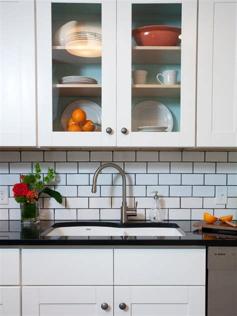subway tile kitchen backsplash ideas 11 creative subway tile backsplash ideas hgtv