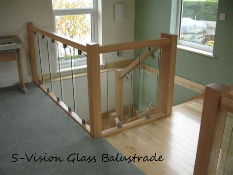 Glass Landing Banister by Axxys Stairparts Chrome Handrail Fittings Axxys Balistrading