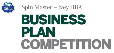 Business Plan Competitions Mba by Spin Master Hba Business Plan Competition L