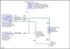 cooling fan relay wiring diagram 2002 jeep grand