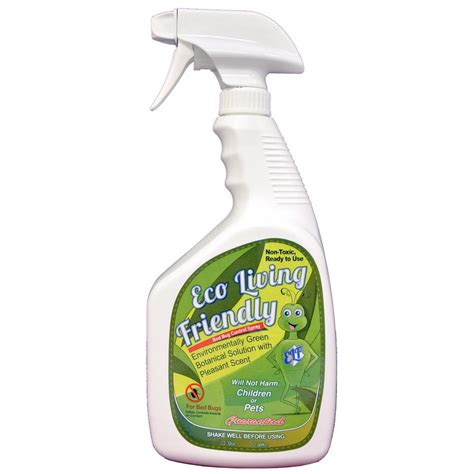 bed bug cleaner spray forget 32 oz exterior algae mold moss lichen
