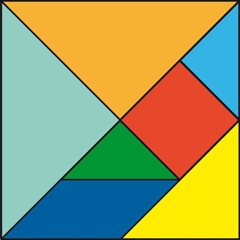 tangram cuadrado tangram cuaderno de cultura cient 237 fica