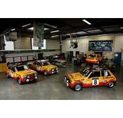 Monte Carlo Historique  Les Renault 5 Alpine &224 La F&234te