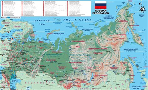 russia map atlas map of russia map in the atlas of the world world atlas