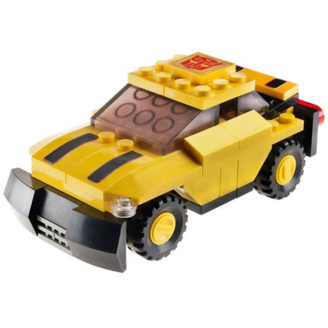 Micro Block Transformer Bumble Bee kre o transformers 174 bumblebee 174 toys blocks